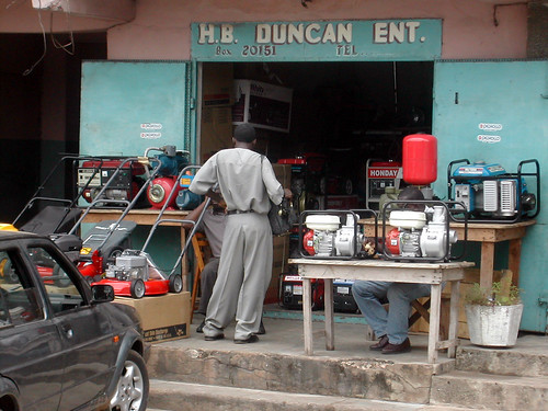 H.B. Duncan Enterprises Containers: Motors and electrical shop