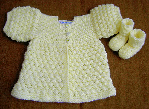 Crocheted Layette Set