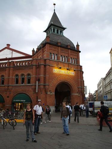 L'entrada del mercat d'Östermalm