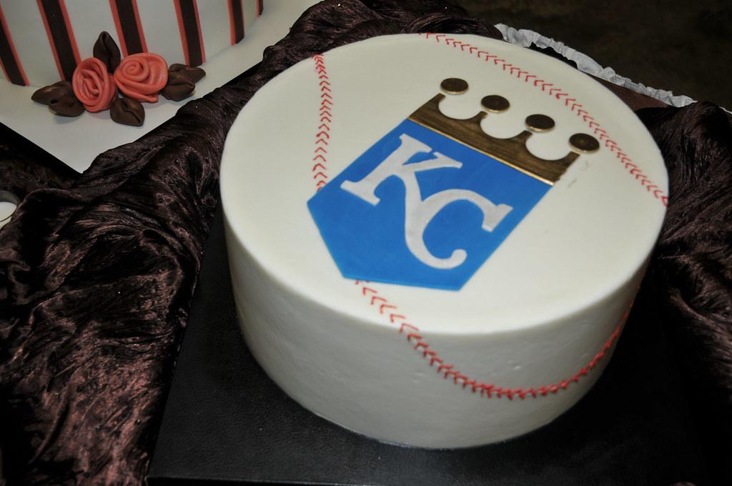 Kansas City Royals Grooms Cake