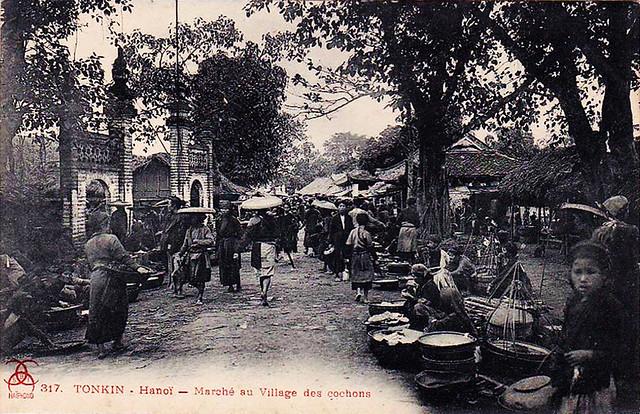 Hanoi Marché au Village des Cochons (1)