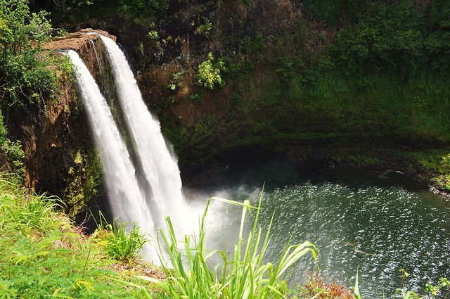 Twin falls    Kauai     Hawaii