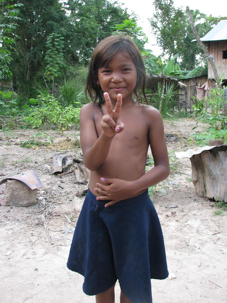 Rural Girl Posing  Khmer Pure Project  Flickr-7997