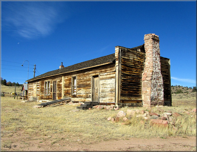 Overland Trail Stage Station, Virginia Dale, CO