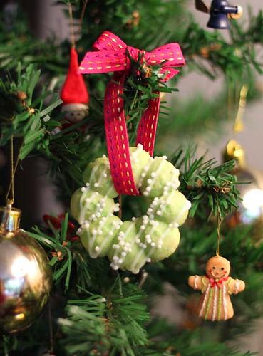 Árvore  de Natal de comer
