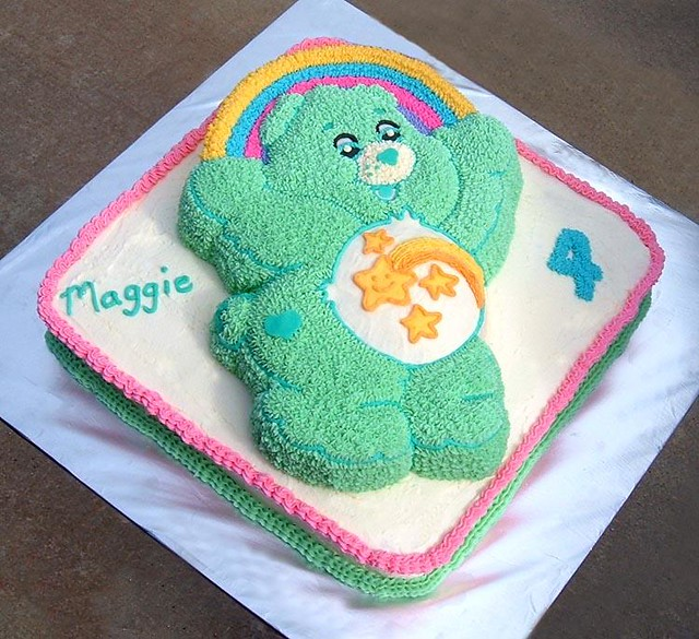 Care Bear Cake Designs