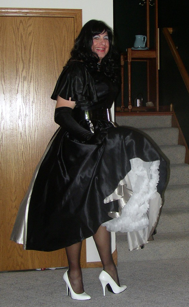 Black and Silver Party Dress