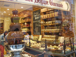 Brussels, chocolate shop
