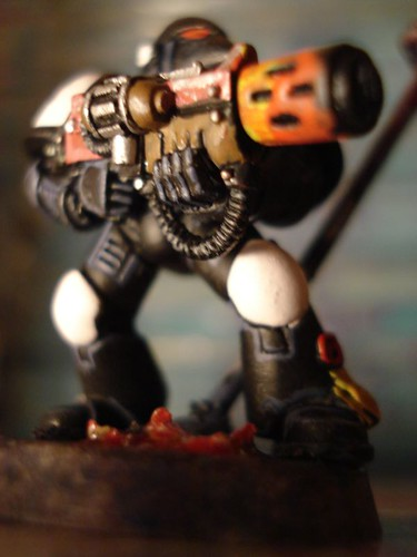 Black Templar w/Meltagun