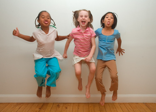 """""""On the count of three...JUMP!"""""""