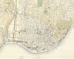 1914 Topographic Map Of Cincinnati 1914 Edition Of The 191 Flickr