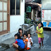 Bermain bersama. : Children playing in the street. Photo by Ardian