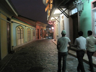 With the boys in Old Town