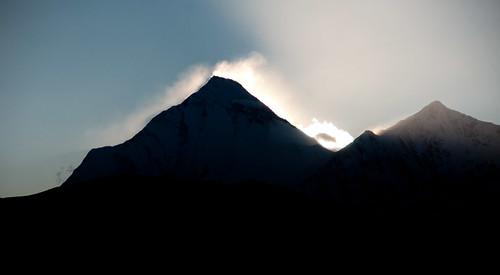 Dhaulagiri Clouds