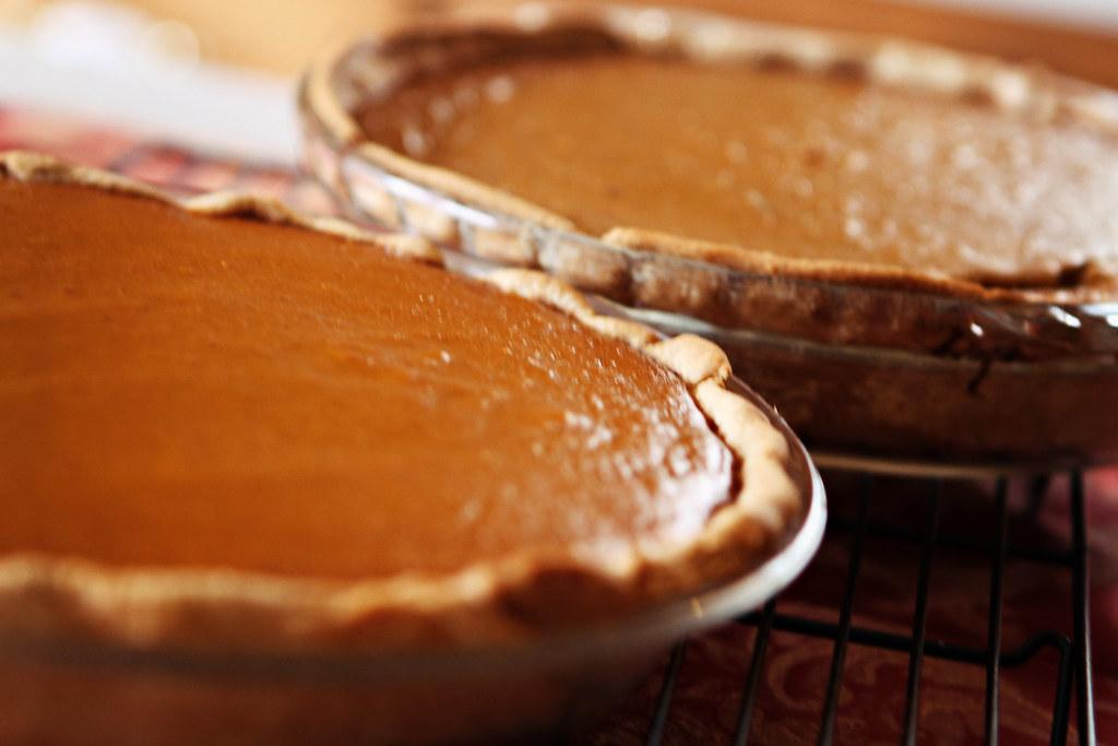 pumpkin pie commercially prepared