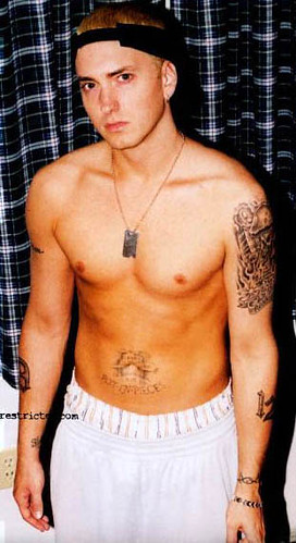 Eminem Shirtless http://www.flickr.com/photos/shirtlessactors/548298672/