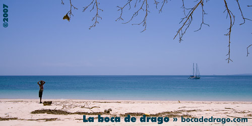 "Chapera, Panama from the book ""Le isole lontane"" by Sergio Albeggiani"