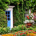 Norfolk cottage garden by tubblesnap