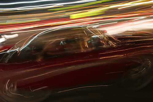 motion blur on Brice Road, Mopar Nats, August 2006 by Hemmings Motor News