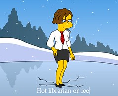 Hot librarian from Springfield