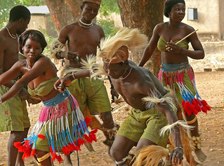 African Tribe Dance African tribal dance, togo