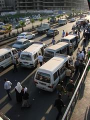 Damascus Morning Traffic