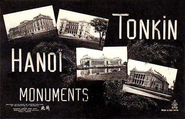 TONKIN - HANOI - MONUMENTS