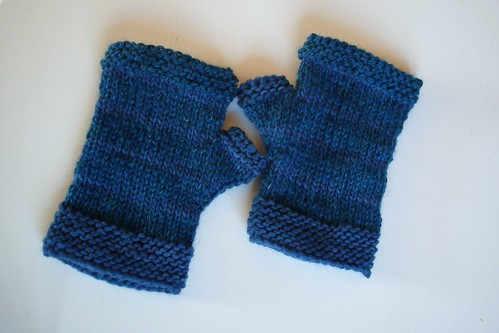 Matching Mitts by gradschoolknitter
