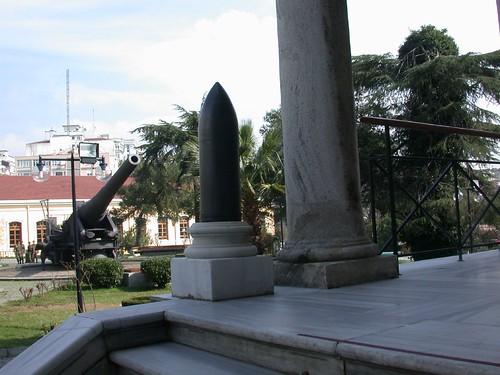 Isztambuli Hadtörténeti Múzeum bejárata