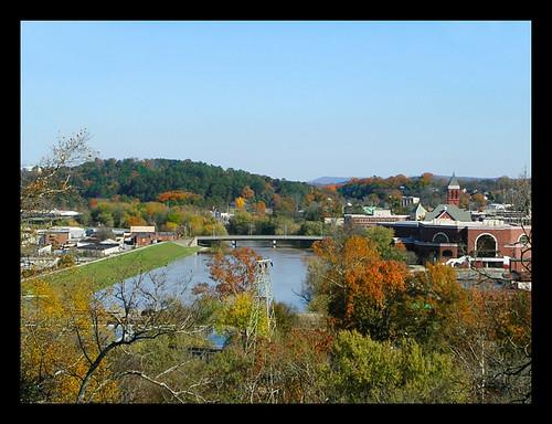river town scenery view scenic overlook overview myrtlehill buildingstravelromegeorgiausaautumnfallnovembernikoncoolpixjgraceystinsonseasons