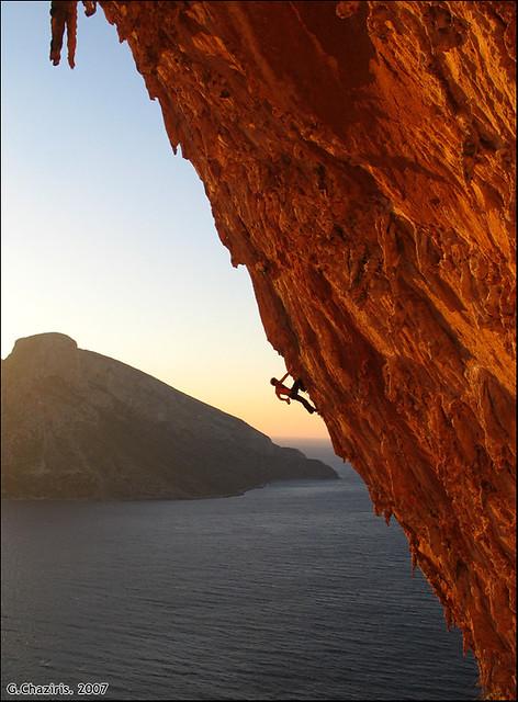 Aegialis 7c / Kalymnos Climbing