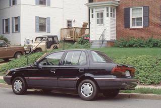 Arlington - 1990 Mitsubishi on Longfellow Street