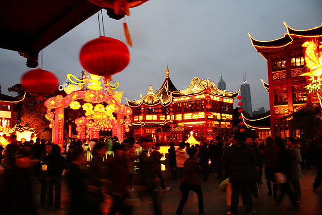 Yuyuan Garden, Shanghai - Photo by Flickr user fukagawa