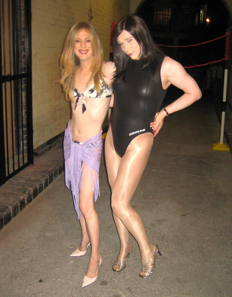 swimsuit crossdress Laura