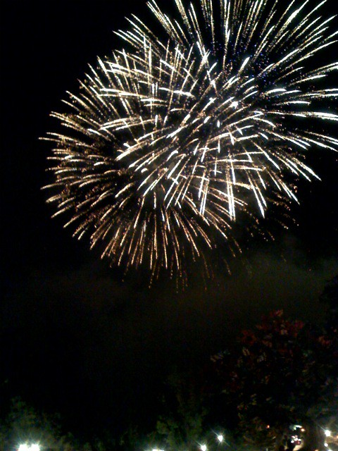 how to make firework pictures