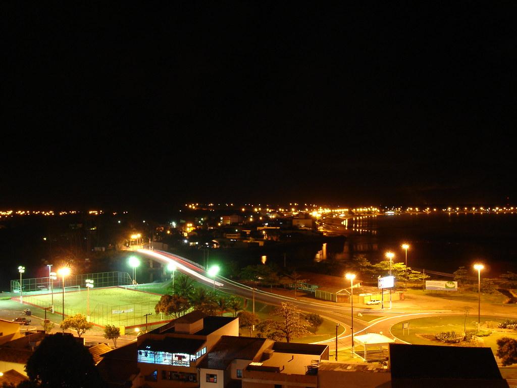 Vista de Nova Almeida e Praia Grande