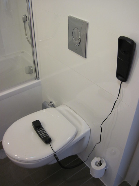 The toilet phone flickr photo sharing for Bathroom zones ireland