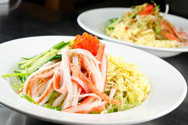 Japanese Cold Noodle Salad (Hiyashi Chuka) Recipe — Dishmaps