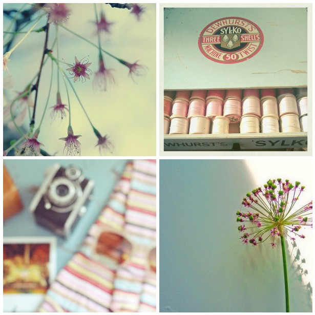 colour palette : summer pastels - curated by Emma Lamb