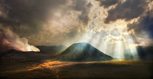 Gunung Bromo, East Java - Early evening