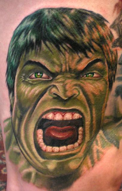 Hulk Mad By Beto Munoz Of Monkeyproink.com