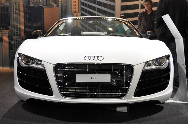 Audi R8 White Front Flickr Photo Sharing