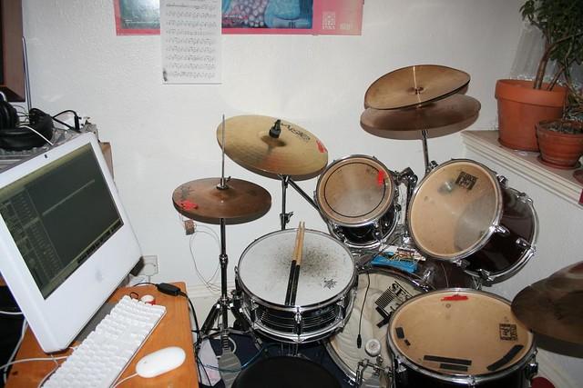 Arduino drum kit setup flickr photo sharing