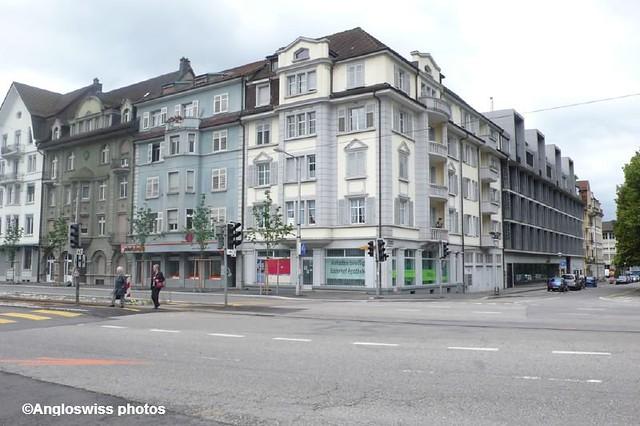 Corner Schänzlistrasse-Rötistrasse, Solothurn
