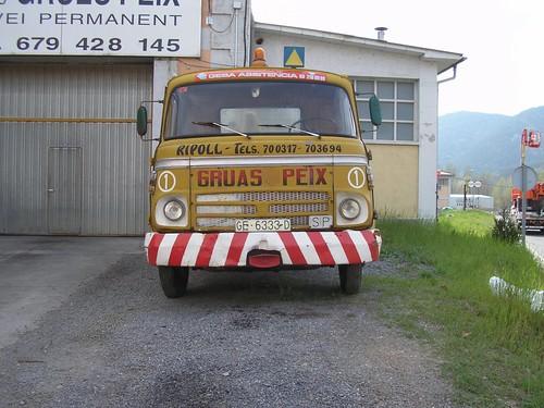 camió Barreiros Saeta a Ripoll - Girona (1972)