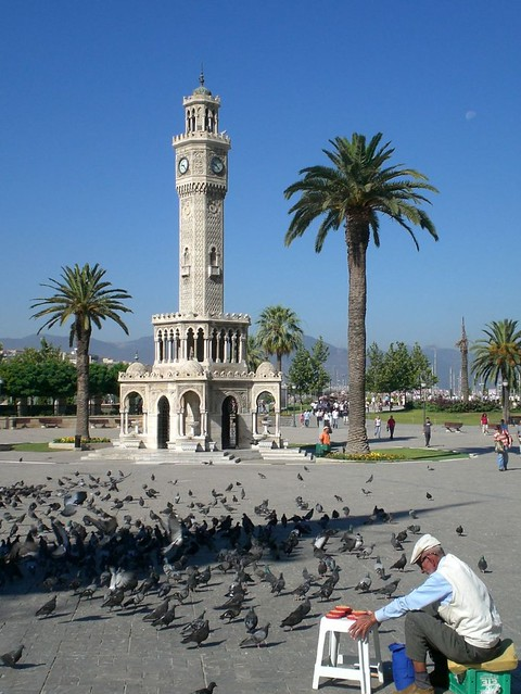 Clock Tower, Konak Square, Izmir, Turkey  Flickr - Photo ...