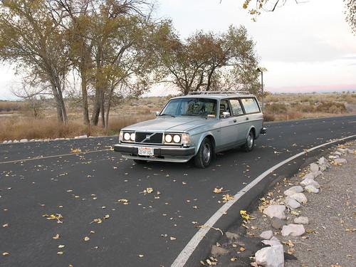 Volvo 240 headlight swap