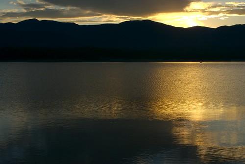 camping sunset lake canada beach water nikon bc columbia british d200 koocanusa