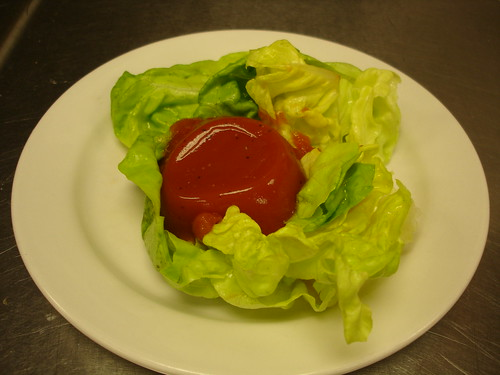 Tomato Aspic and Bibb Lettuce Salad