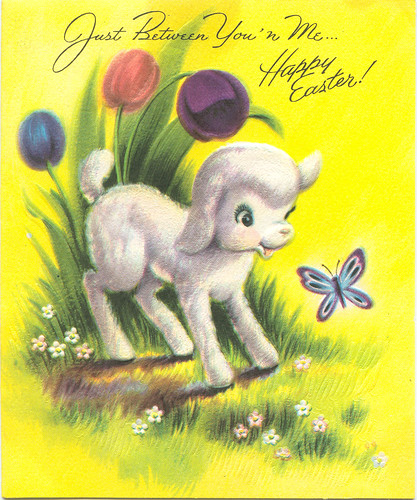 Vintage Easter Card by Zero Discipline